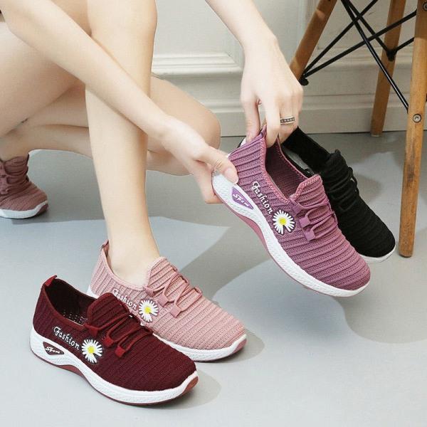 Giày thể thao nữ mã 903 chất vải mềm đế cao su êm đẹp giá rẻ
