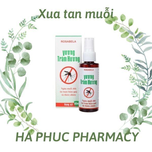 ✅Xịt chống muỗi Vương Tràm Hương 60ml an toàn từ thảo dược thiên nhiên