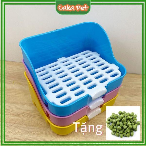 Khay vệ sinh cho chuột lang (bọ ú), thỏ, chinchilla 🐰 𝙌𝙪𝙖̀ 𝙩𝙖̣̆𝙣𝙜 𝙫𝙞𝙚̂𝙣 𝙢𝙖̀𝙞 𝙧𝙖̆𝙣𝙜🐹 Bảo hành 1 đổi 1