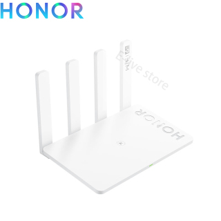 Honor Router 3 WiFi 6+ Dual Band Wireless WiFi Router Support Mesh Networking OFDMA 3000Mbps 128MB Wireless Signal Booster Repea thumbnail