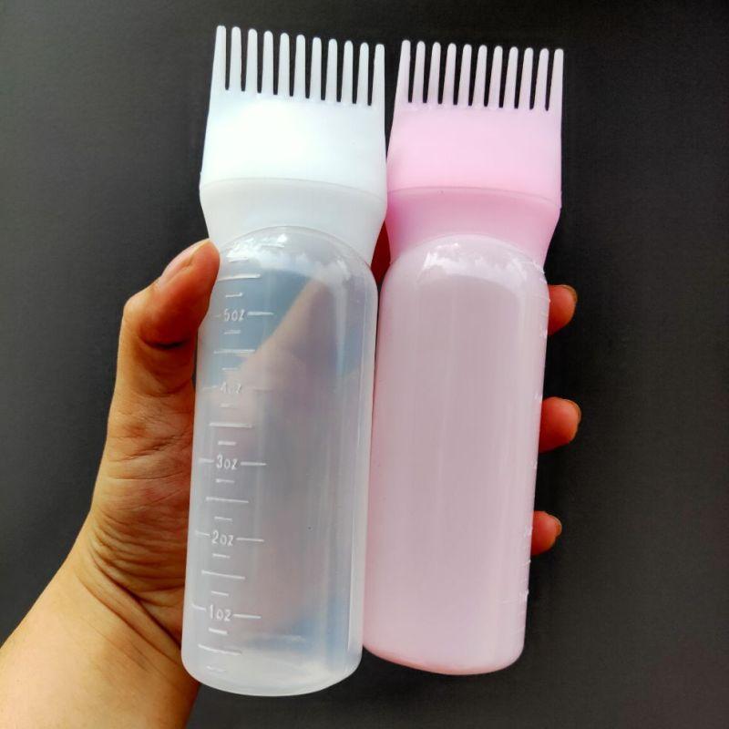Bình nhuộm tóc thông minh kèm lược chải tiện lợi cao cấp