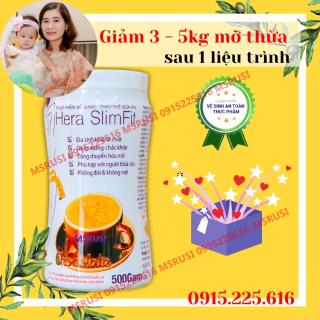 Sữa giảm cân - Giảm Béo Hera SlimFit hộp 500g - HERA MILK - Công nghệ Đức - Đủ dinh dưỡng ức chế cảm giác thèm ăn và tăng cường chuyển hóa mỡ thừa - An toàn và đã được chứng minh - Giảm chất béo không đói không mệt - MSRUSI thumbnail