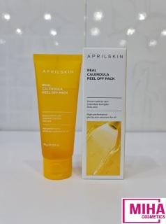 Mặt Nạ Lột Tẩy Tế Bào Chết APRILSKIN Real Calendula Peel Off Pack 100g Hàn Quốc thumbnail