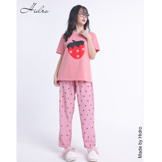 HIDRO Bộ pijama thun đũi Hàn Quốc thumbnail