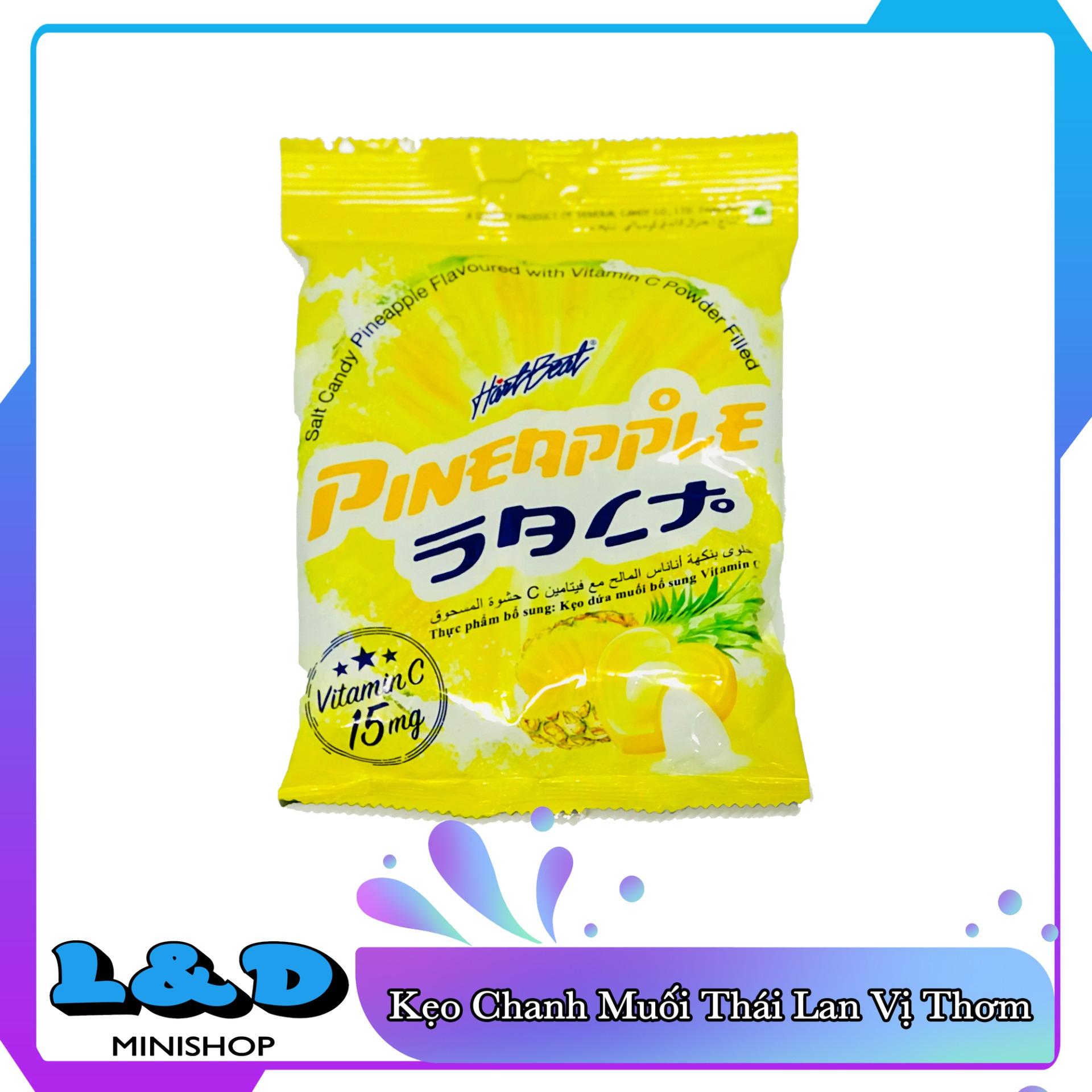 [HCM]Kẹo Thơm Muối Thái Lan 120gr