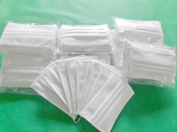 khẩu trang vải may 4 lớp ( 10 cái)