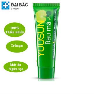Kem  bôi da  YOOSUN RAU MÁ 25g - Dịu mẩn ngứa, Ngừa  mụn, mát da, tránh sẹo
