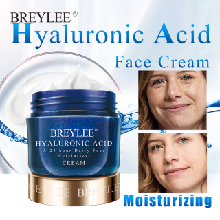 BREYLEE Hyaluronic Acid Moisturizer Face Cream For Expensive Whitening Facial Skin Care A 24-hour Daily Acne Treatment Cream 40g thumbnail
