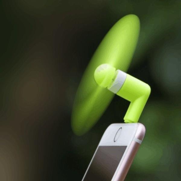 Bảng giá Quạt mini usb 2 cánh cắm chân điện thoại lightning, micro usb, micro Type C - Quạt mini usb 2 cánh rời cắm chân điện thoại - Quạt usb 2 cánh rời - Quạt điện thoại - Quạt sạc, quạt 2 cánh Phong Vũ