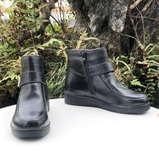 [SKM] Giày boot nữ cổ lửng thời trang sành điệu 20409 thumbnail