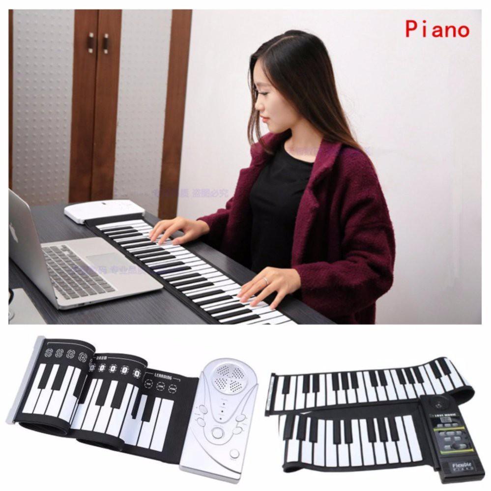 Piano Điện Nhập Từ Nhật - giá ưu đãi, Đàn Piano Đàn Giá Hạ Cao, Đàn piano điện tử bàn phím cuộn dẻo 49 phím giá re, uy tín, chất lượng tốt nhat