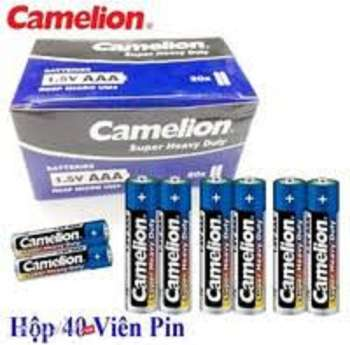 Hộp 40 Viên Pin Tiểu AAA Camelion Super Heavy Duty Battery 1.5V