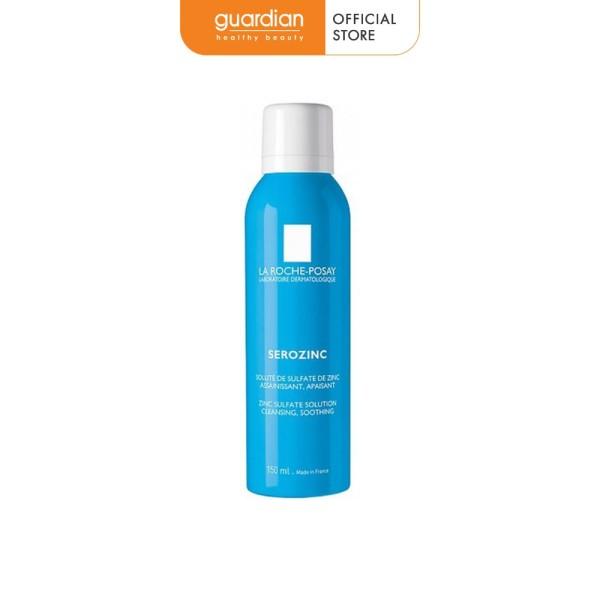 Nước xịt khoáng làm dịu da và giảm bóng nhờn cho da dầu mụn La Roche-Posay Serozinc 150ml