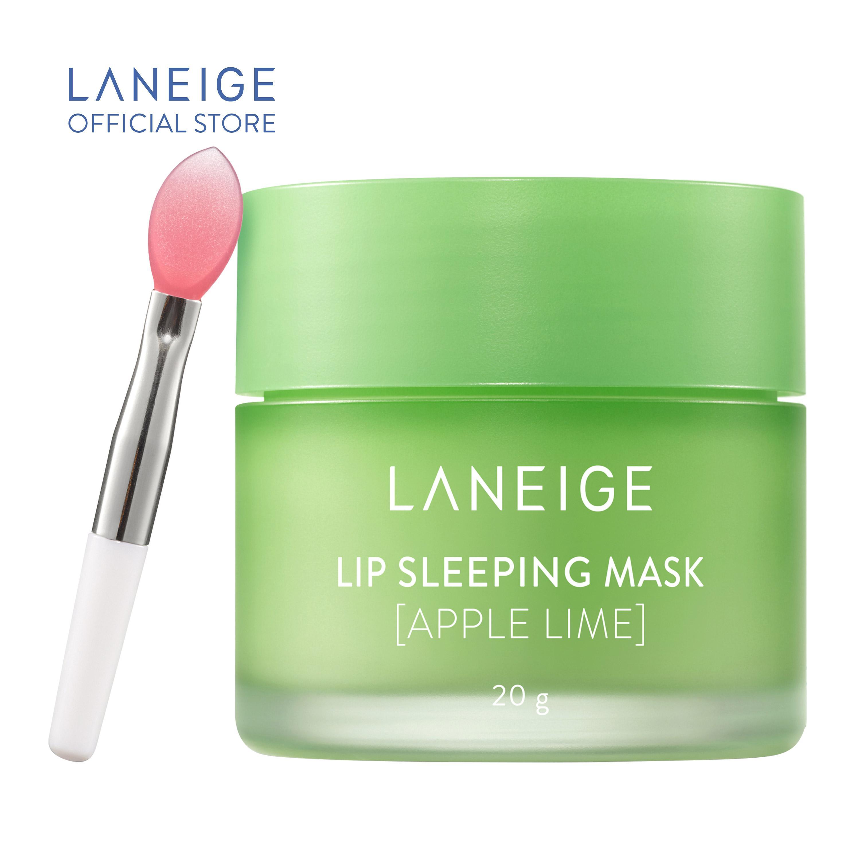 Mặt nạ ngủ cho môi hương táo Laneige Lip Sleeping Mask Apple Lime 20g