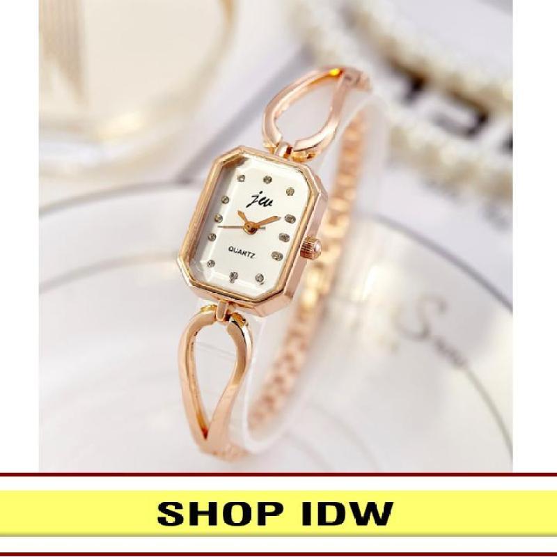 [Có video quay thật] Đồng hồ nữ dây hợp kim cao cấp JW IDW S0581 (Nhiều màu lựa chọn)