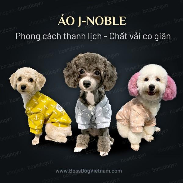 Áo chó mèo cao cấp J-Noble 2021  BossDog