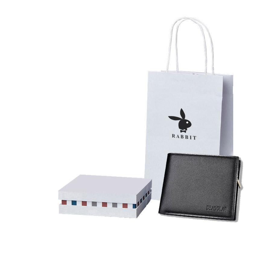 Ví , bóp da nam cao cấp có hộp và túi làm quà tặng ( loại 1 )