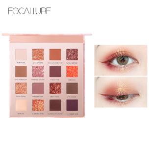 Hộp phấn mắt FOCALLURE 16 màu thiết kế 4 trong 1 chuyên dụng tiện lợi thumbnail