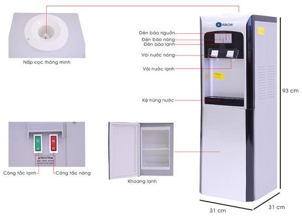 Bảng giá Cây nước nóng lạnh Kachi GL-LN05 Điện máy Pico