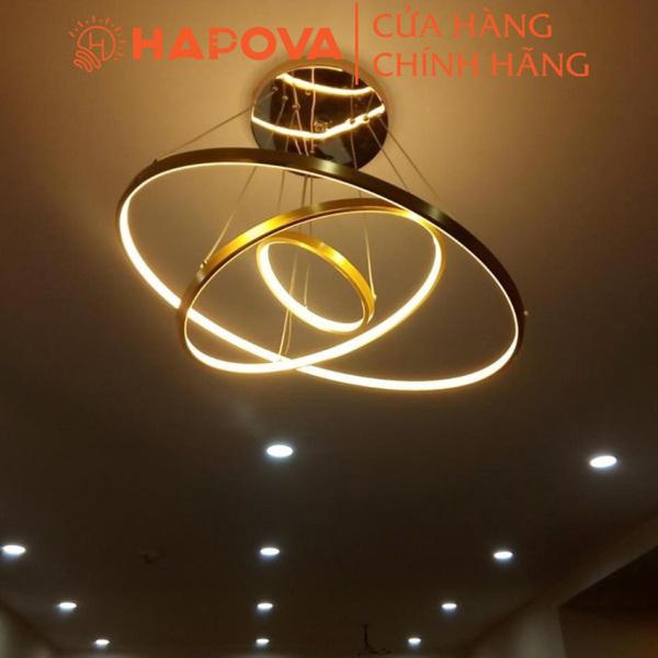 Bảng giá Đèn trần phòng khách, đèn chùm phòng khách trang trí HAPOVA DCH 90061