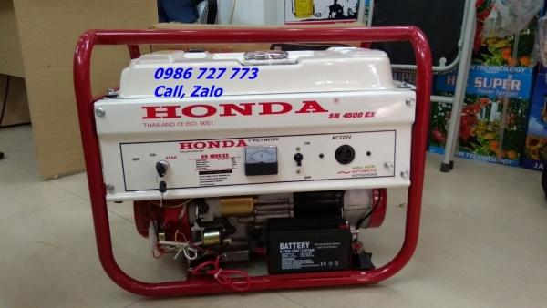 Máy phát điện HONDA SH4500EX ĐỀ, GIẬT PHỤ, LE GIÓ