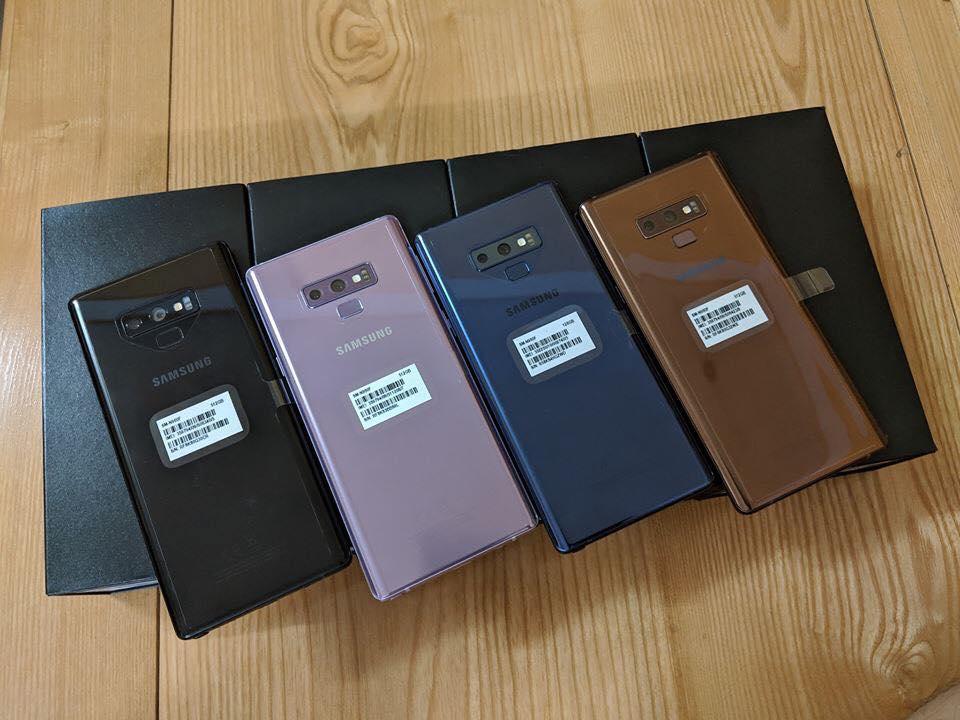 Điện Thoại SamSung Galaxy Note 9 bản 2 sim , kèm ốp lưng và Phụ kiện , ảnh thật 100% , mua hàng Tại PlayMobile