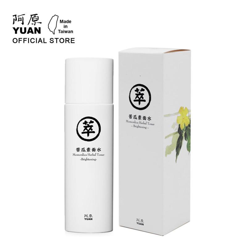 Toner Dưỡng Sáng Da, Dành Cho Da Sạm Màu Từ Khổ Qua YUAN Momordica Herbal Toner-Brightening 150ml cao cấp