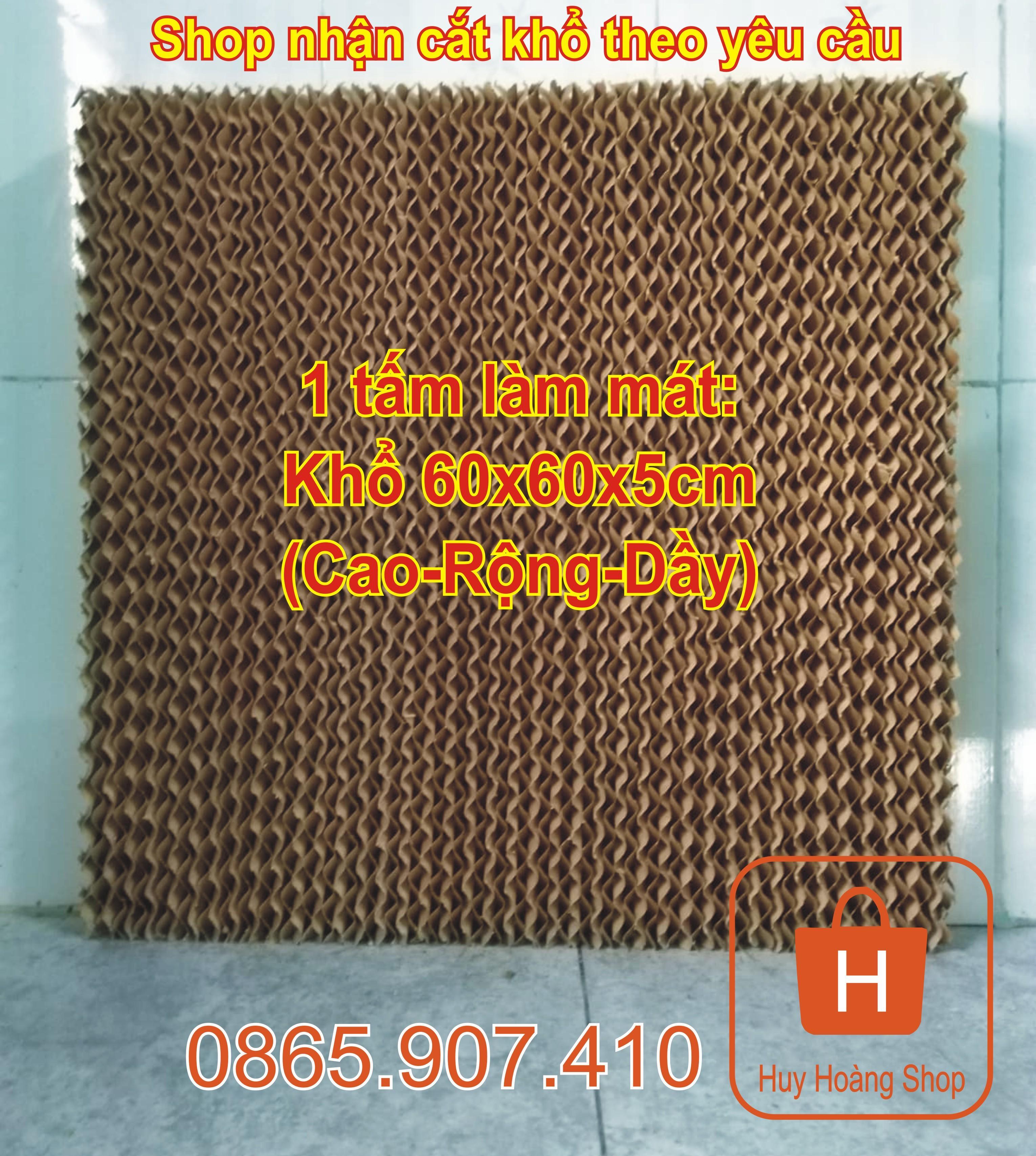 Tấm Làm Mát Cooling Pad Khổ 60x60x5cm Giá Cực Cool