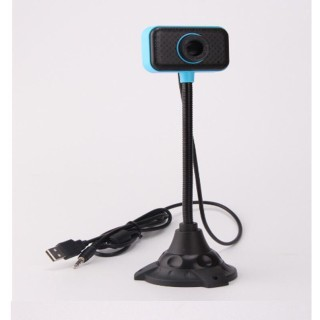 Webcam Kèm Mic Thân Cao Delta 2020 (Xoay 360 độ, hình ảnh cực net) thumbnail