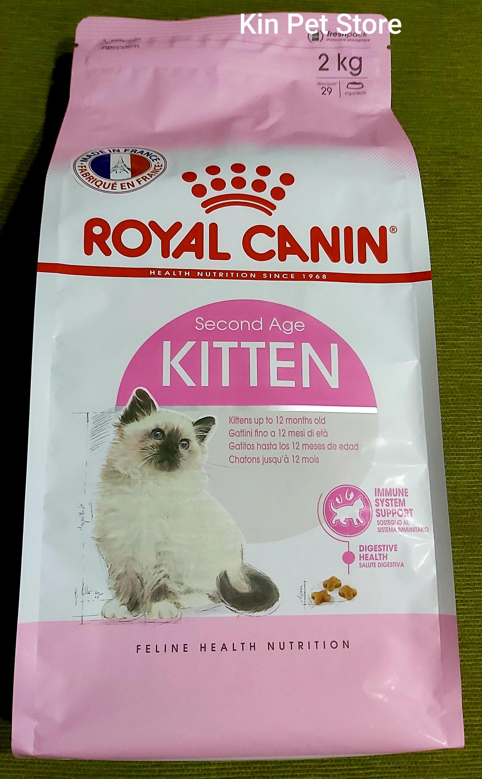 Offer Khuyến Mại Royal Canin Kitten - Thức ăn Cho Mèo Con Dưới 12 Tháng Tuổi - [Túi 2kg]