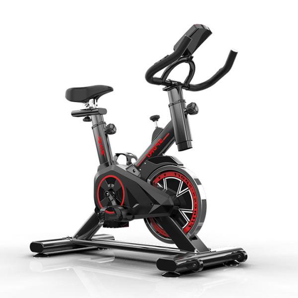 xe đạp thể dục - xe đạp thể dục trong nhà yên lặng tay lái và ghế có thể điều chỉnh, bánh đà mạ crom, màn hình 5 chức năng (TẶNG: tai nghe bluetooth không dây)