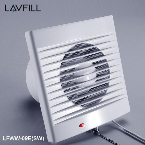 Quạt thông gió thiết kế rèm gắn tường có công tắc kéo LAVFILL LFWW-09EK(SW), LFWW-11EK (SW), LFWW-13EK (SW)