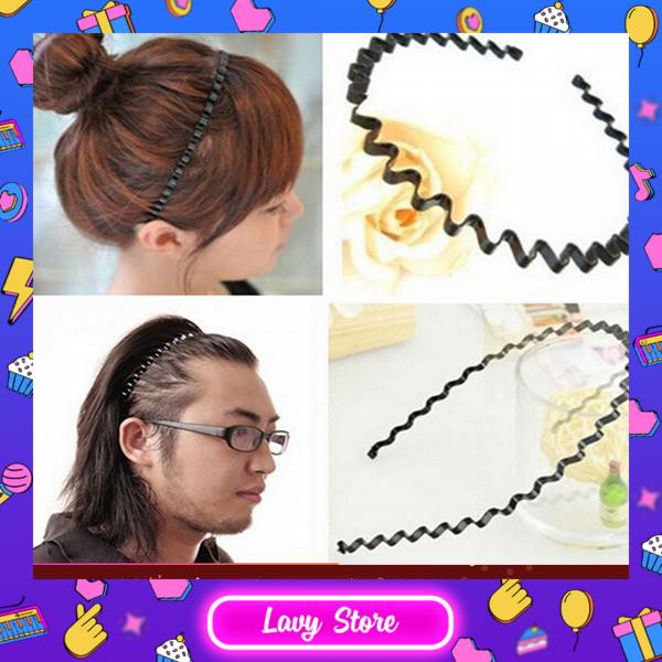 Cài tóc gợn sóng, nam nữ đều dùng được  - phụ kiện tóc giá rẻ - Lavy Store giá rẻ