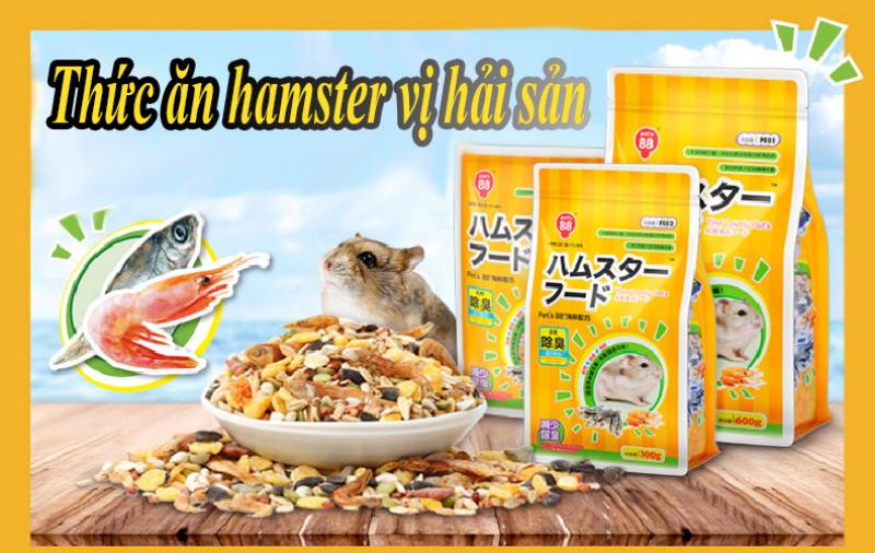 Thức Ăn Hải Sản Cho Hamster 150g