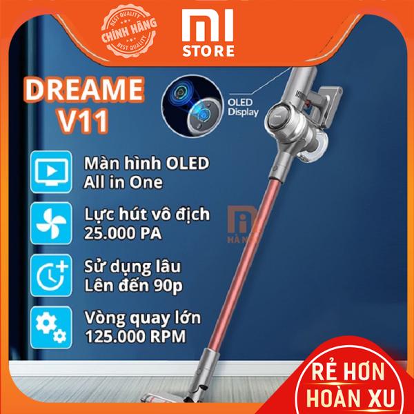 Máy bút bụi cầm tay không dây Xiaomi Dreame V11 – bảo hành 12 tháng