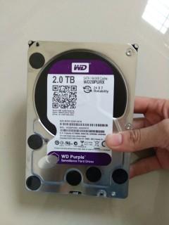 Ổ cứng HDD Western Purple 2TB dòng ổ cứng chuyên dụng cho camera thumbnail