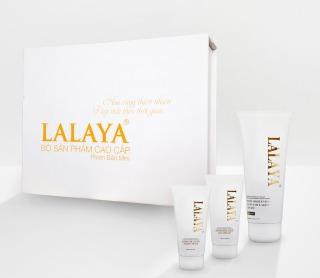 Bộ sản phẩm dưỡng da cao cấp mini 3 món Kem dưỡng da mặt chuyên sâu ngày, đêm và kem body giúp chăm sóc và bảo vệ da toàn diện LALAYA - LLYT thumbnail