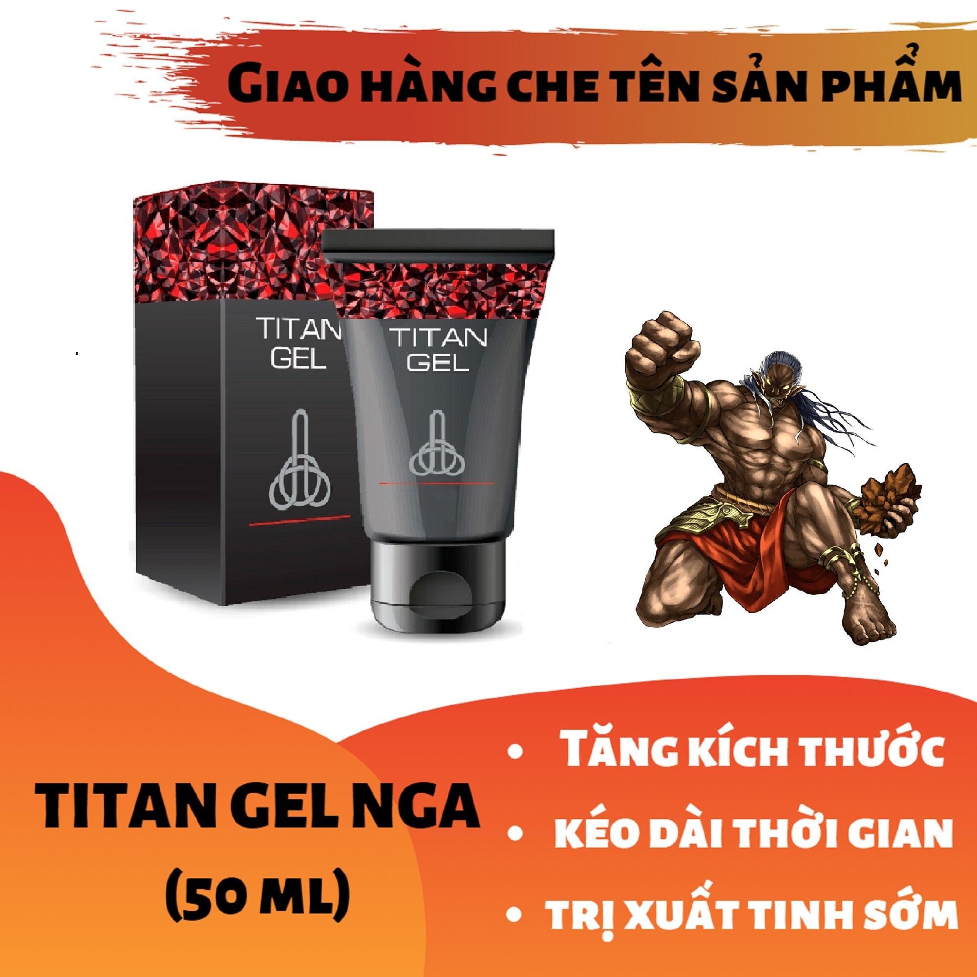 Titan-Gel-Nga - Gel dành cho nam - hàng chuẩn Nga tăng kích thước cho cậu bé ( Che tên khi nhận hàng ) chính hãng