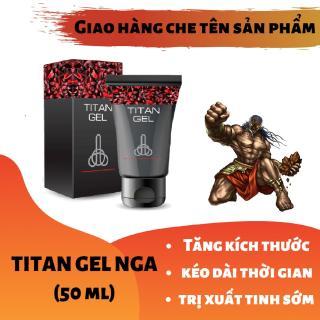 (Lô mới nhất) Titan-Gel-Nga - Gel dành cho nam - hàng chuẩn Nga tăng kích thước cho cậu bé ( Che tên khi nhận hàng ) thumbnail