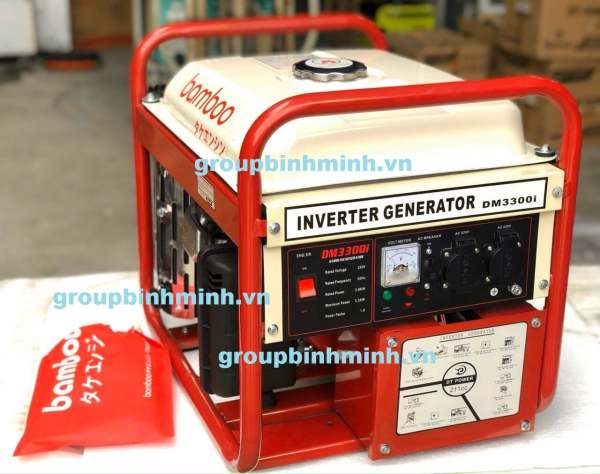 Máy Phát Điện Xách Tay Bamboo DM3300i INVENTER