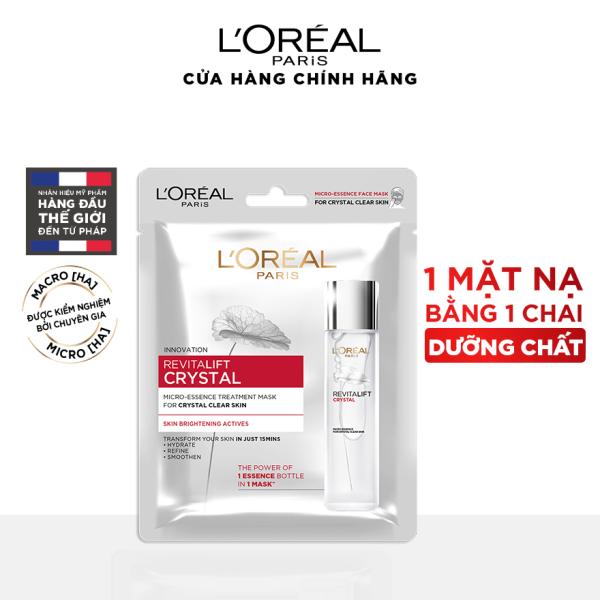 Mặt nạ dưỡng chất pha lê LOreal Paris Revitalift Crystal Micro-Essence giá rẻ