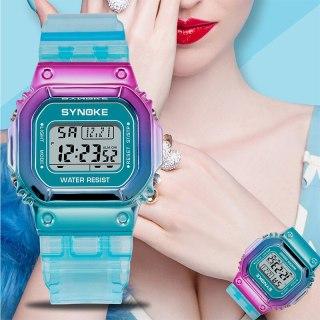 Đồng hồ Nữ thể thao SYNOKE VION, Trẻ Trung Cá Tính, Chống Nước Rất Tốt, Đồng hồ nữ chống nước, Đẹp,Sang trọng,Đẳng cấp, Bền, Giá Sốc, Đồng hồ nữ thể thao, Đồng hồ nữ hàn quốc, Đồng hồ nữ giá rẻ, Đồng hồ nữ thumbnail