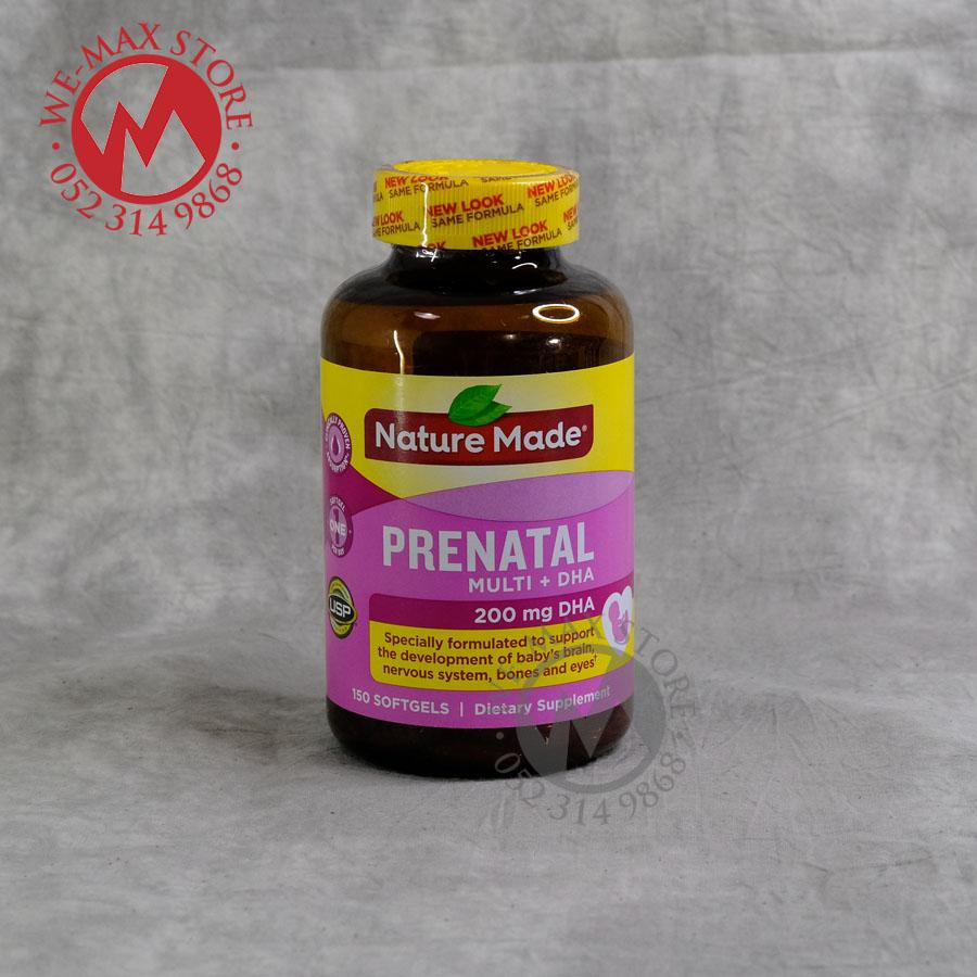 Vitamin Tổng Hợp Cho Bà Bầu Prenatal Multi DHA, 150 viên - Giúp mẹ khỏe con thông minh - WE-MAX-STORE nhập khẩu