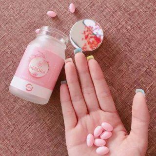 Viên Uống Tạo Hương Thơm Cơ Thể Hebora Premium Sakura Damask Rose Nhật Bản (Hộp 60 viên) thumbnail