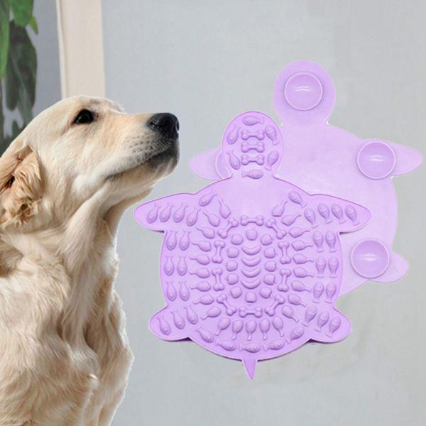 Tình Yêu 4ND Hòa Bình, Hạnh Phúc, Hạnh Phúc Viên Ăn Uống, Thực Phẩm, Thiết Bị Phân Tâm Đĩa Thức Ăn Chó Liếm Mat