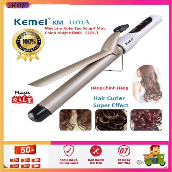 Máy uốn tóc,duỗi tóc, máy uốn tóc gợn sóng KEMEI 1101A - Chức năng uốn cụp - lượn sóng - uốn phồng - Đuôi - úp tóc - làm xoăn - uốn tóc tự động - mini - đa năng - giá khuyến mãi cao cấp