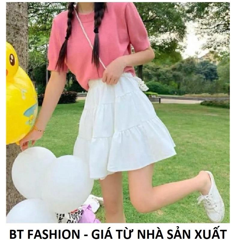 Chân Váy Voan Thời Trang BT Fashion (VA2 NGẮN 3T) - Có quần lót bên trong