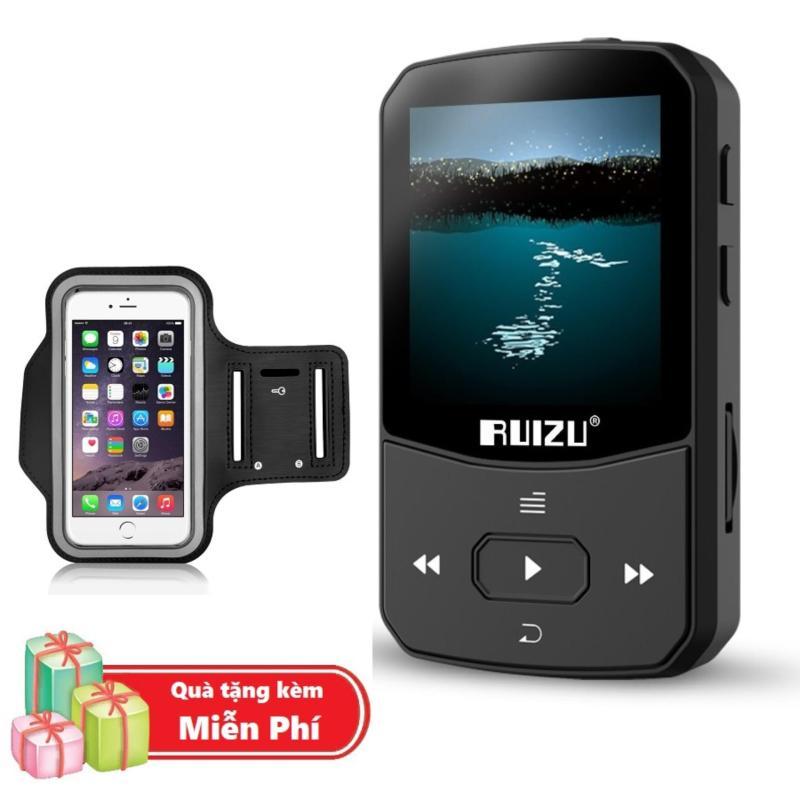 ( Quà tặng Túi đựng máy nghe nhạc đeo tay chống nước ) Máy Nghe Nhạc MP3 Bluetooth Ruizu X52 Bộ Nhớ Trong 8GB Cao Cấp - Máy nghe nhạc Lossless Bluetooth Ruizu X52