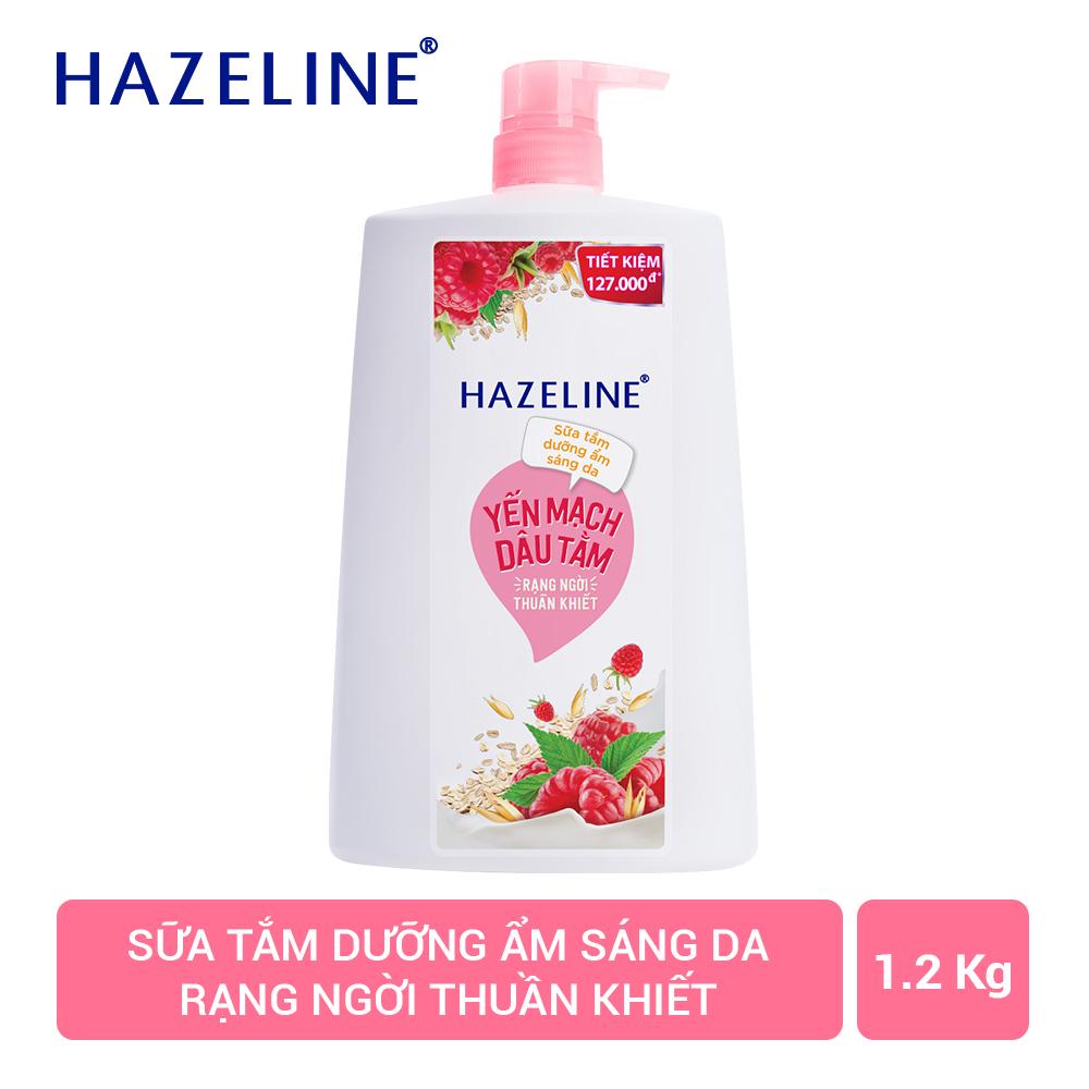 Mã Giảm Giá tại Lazada cho Sữa Tắm Dưỡng Sáng Da Hazeline Yến Mạch - Dâu Tằm (1.2kg)