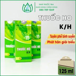 Giảm ho-hen suyễn K H Chai 125ml thumbnail
